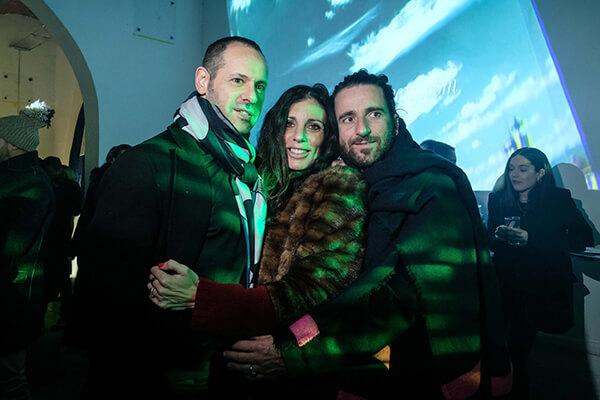 Massimiliano Giornetti, Carlotta Lana and Cristian Spadoni