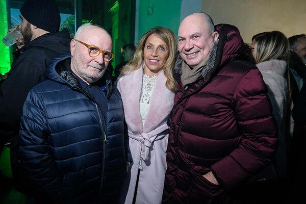 Gianni Mercatali, Federica Rotondo, Gianluca Tenti
