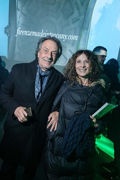 Pierluigi and Alba Bacci