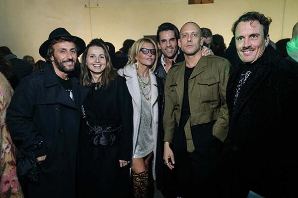 Luca Parisi, Rossella Cannone, Francesca Bertini, Claudio Cortini, Ricardo Perna and Andrea Cresci