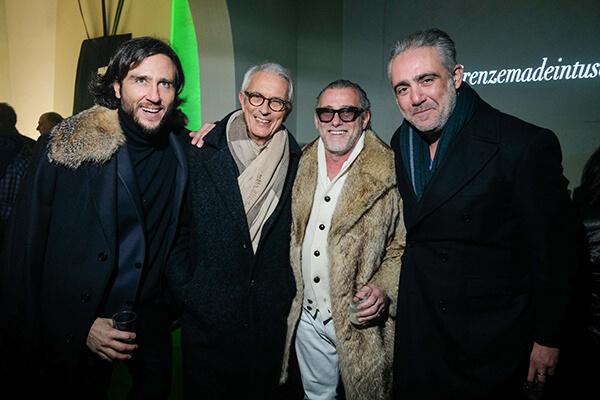 Alex Vittorio Lana, Agostino Poletto, Alessandro Squarzi, Matteo Parigi Bini