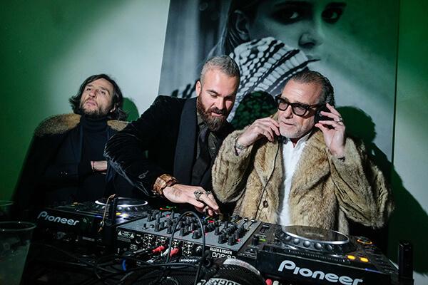 Alex Vittorio Lana, Remo Giugni, Alessandro Squarzi