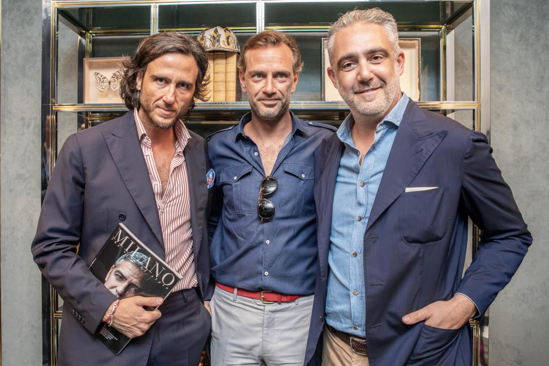 Alex Vittorio Lana, Guglielmo Miani, Matteo Parigi Bini