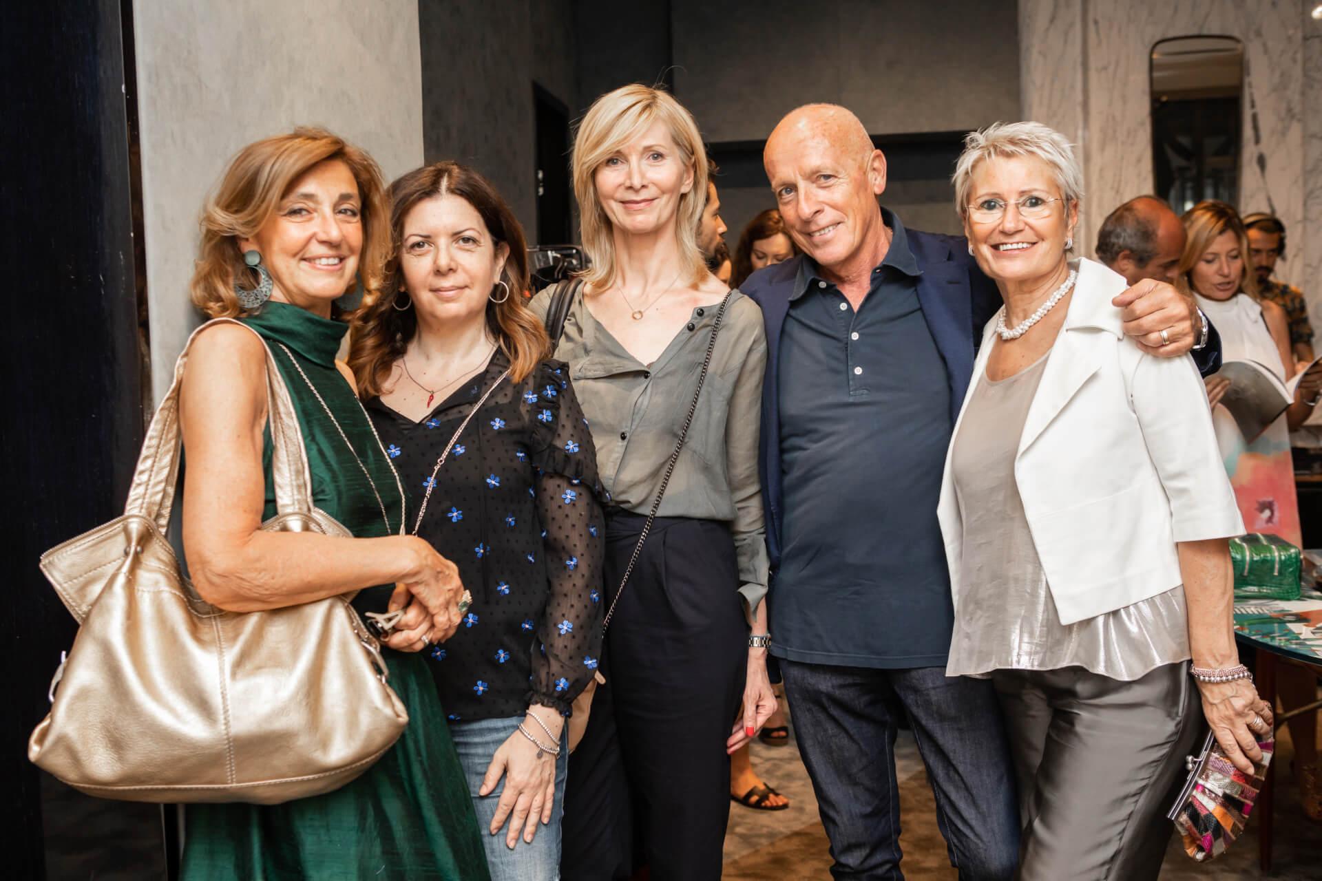 Daniela Prestinoni, Tiziana Accoti, Vesna Grbac, Piero Menzanzanica, Elisabetta Colombo