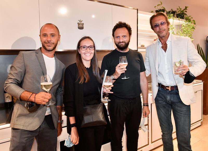 Alessia Pandolfi,Emanuele Missaglia, Giorgio Cantagalli and Gianluca Bonotti