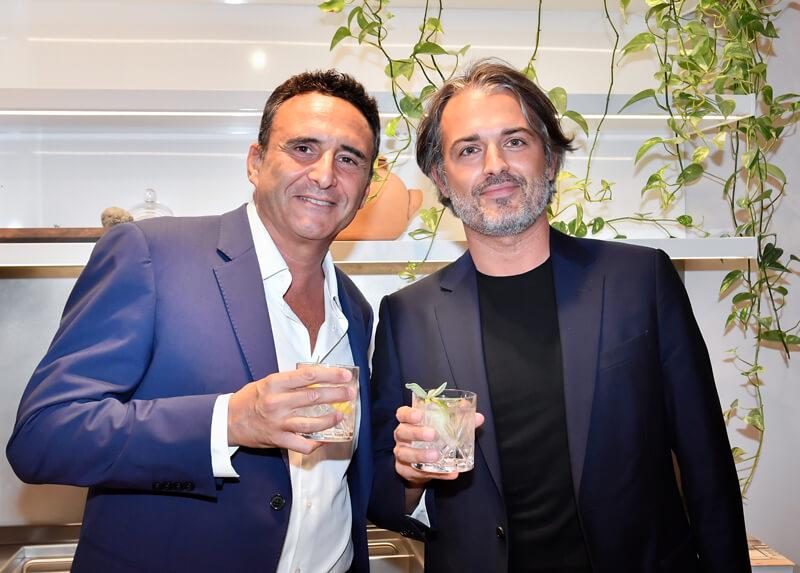 Francesco Bargellini and Fabio Lugana