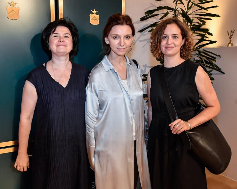 Irina Glik, Marika Sokolova and Natalia Shironina
