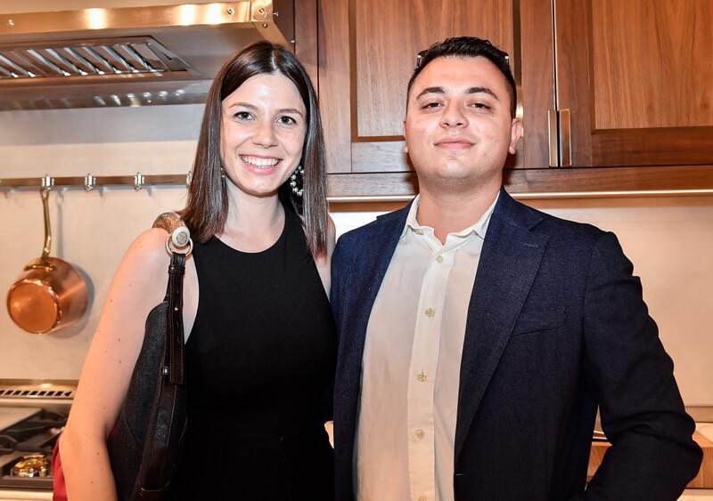 Alessia Lorenza Albano and Lorenzo Porta