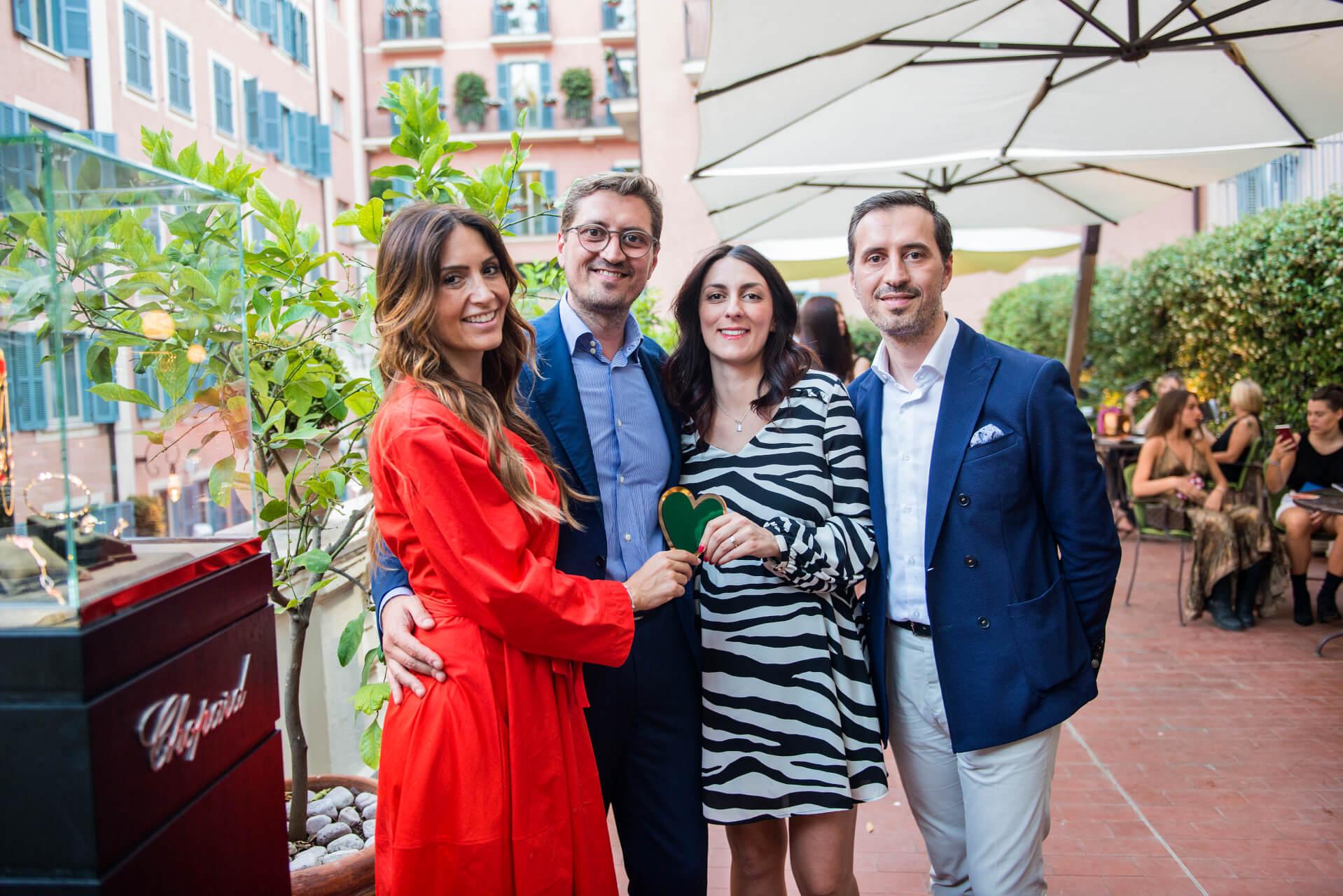 Susanna Refrigeri, Diego and Emanuele Cataldi, Sharon Ricciotti