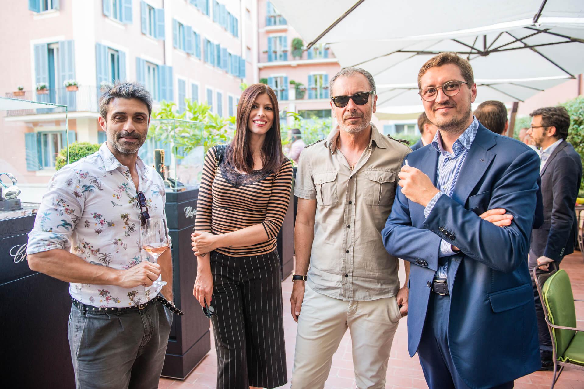 Stefano Mascato, Cristiana D'Antonio, Silvano Sganappa, Diego Cataldi