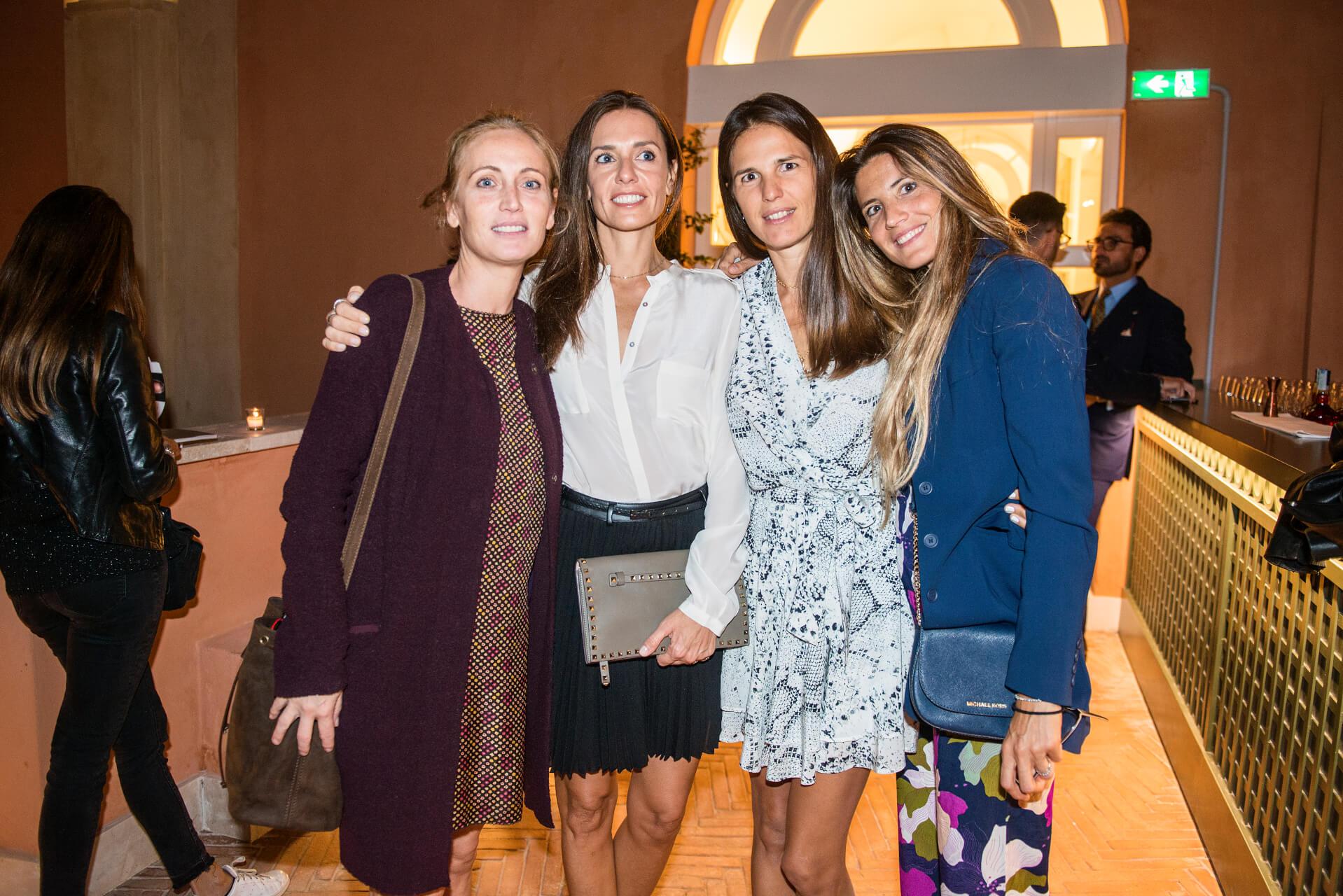 Angela Petrini, Raffaella Mancini, Veronica Sgaravatti, Gabrielle Bolzioni