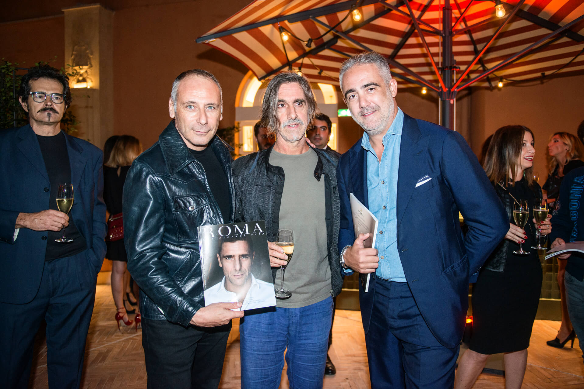 Roberto Bisesti, Fabio Lovino, Matteo Parigi Bini