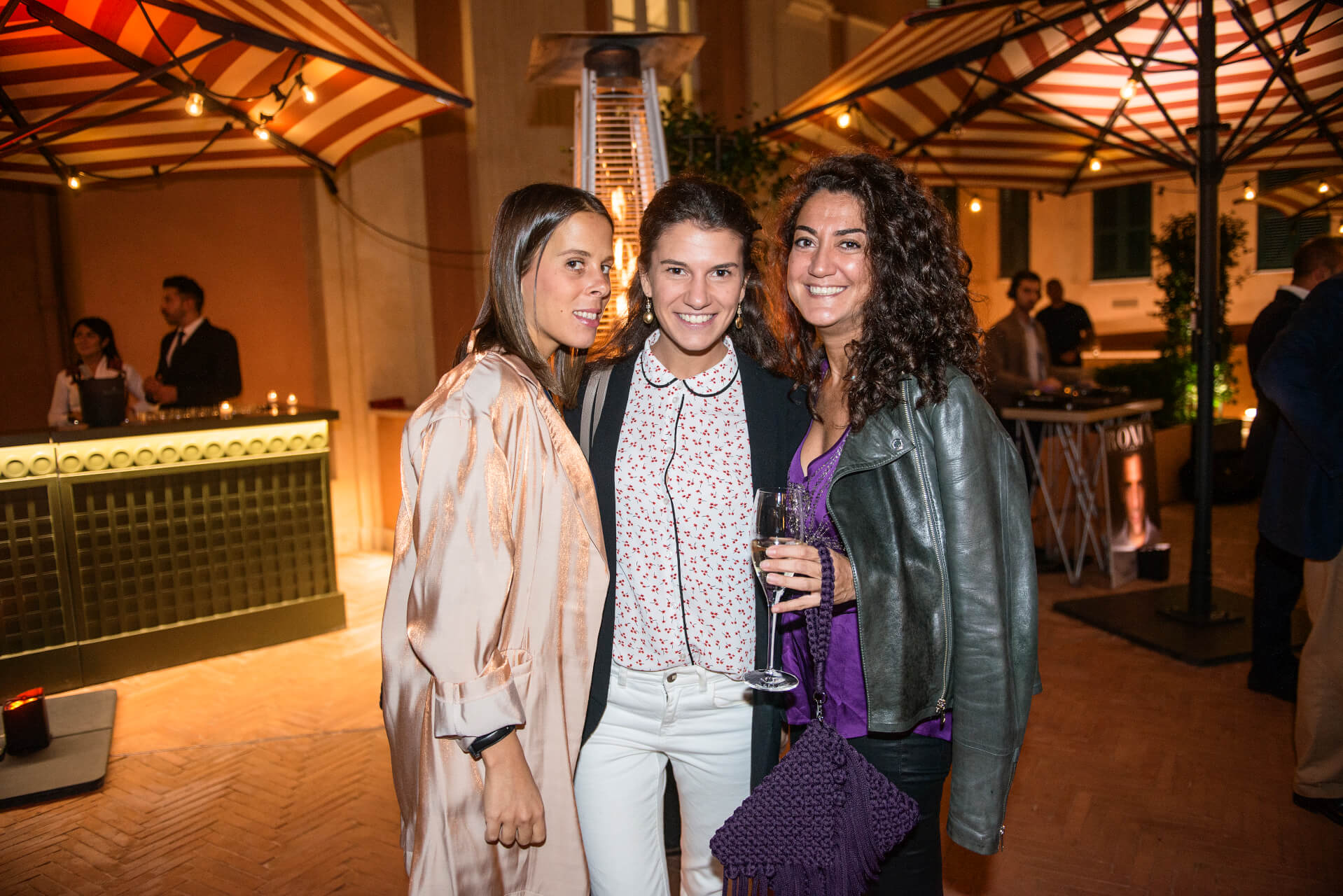 Deborah Simpson, Vera Marsilli, Dona Daher