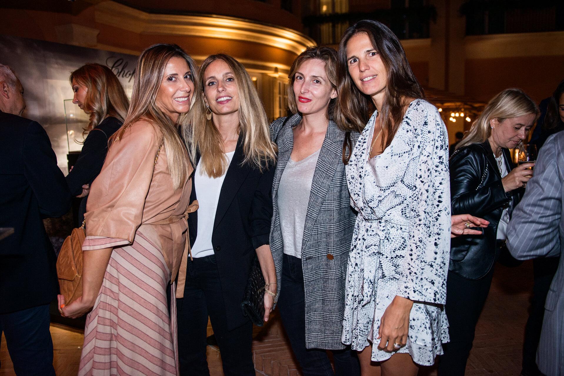 Veronica and Serena Potetti, Flaminia Metz, Coraline Ambrosetti