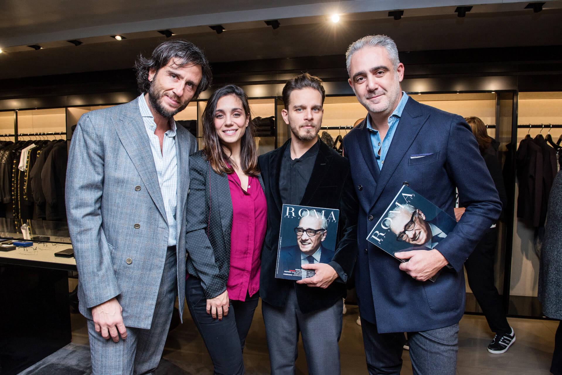 Alex Vittorio Lana, Cristiana Dell'Anna, Arturo Muselli, Matteo Parigi Bini