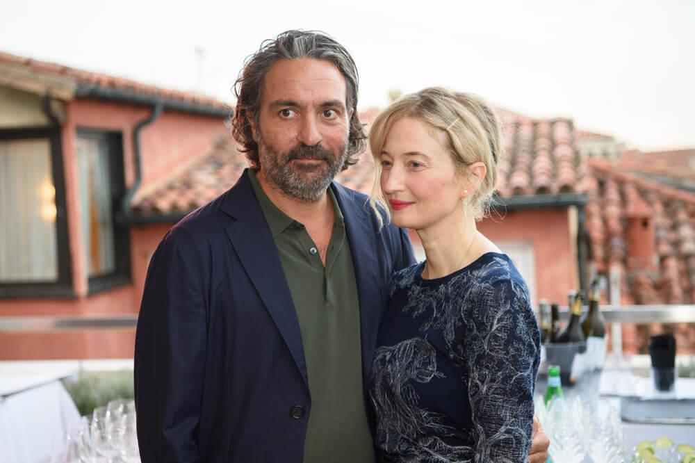 Saverio Costanzo and Alba Rohrwacher