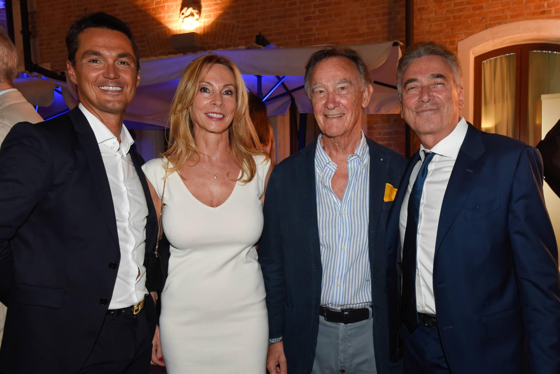 Michele Cattadori, Marina Corradin, Antonio Simionato, leonardo Isaia